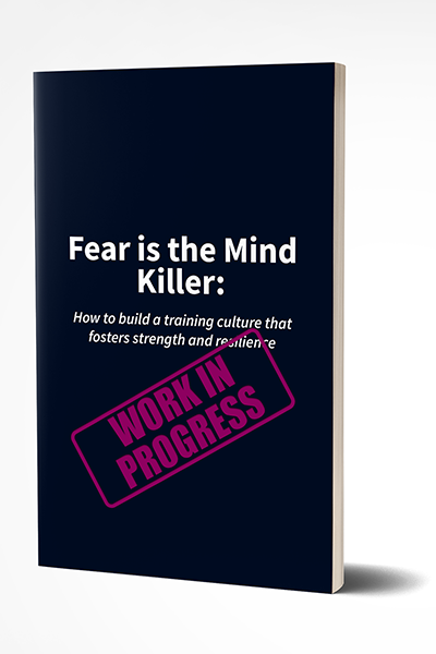 Mockup of Fear is the Mind Killer cover